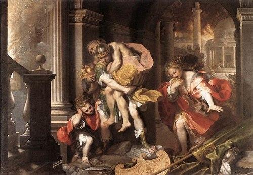 600px-Aeneas'_Flight_from_Troy_by_Federico_Barocci